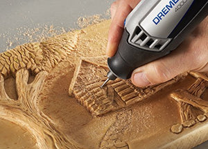 Dremel 4000-4/34 High Performance Rotary Tool Kit with Variable Speed Rotary Tool, 4 Attachments and 34 Accessories - His Perfect Gifts