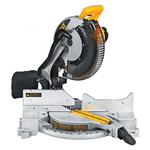 DEWALT DW715 15-Amp 12-Inch Single-Bevel Compound Miter Saw - His Perfect Gifts