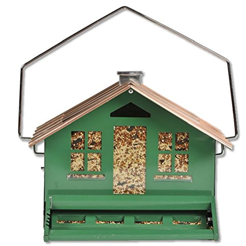 Perky-Pet 339 Squirrel Be Gone II Feeder Home with Chimney - His Perfect Gifts