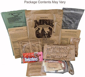 Beef Brisket MRE Meal - Genuine US Military Surplus Inspection Date 2020 and Up - His Perfect Gifts