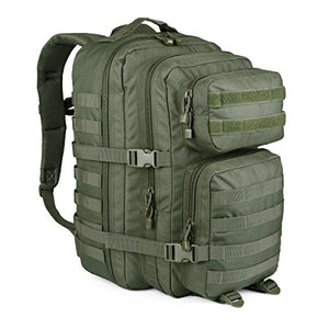 WIDEWAY Military Tactical Backpack 50L Survival Gear Backpacking Large Hydration Molle Bug Out Bag 3 Day Assault Pack Rucksacks Daypack for Outdoor Travel Hunting Camping Hiking Shooting Olive Green - His Perfect Gifts