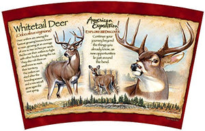 American Expedition Wildlife Steel Travel Mug (Whitetail Deer) - His Perfect Gifts