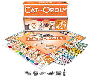 Late for the Sky Cat-Opoly - His Perfect Gifts