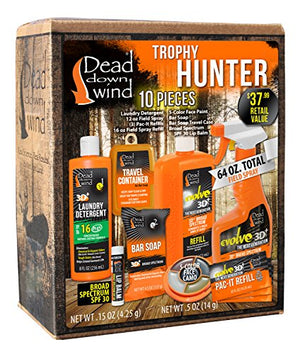 Dead Down Wind Trophy Hunter Kit (10 Piece) - His Perfect Gifts