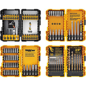 DEWALT DWA2FTS100 Screwdriving and Drilling Set, 100 Piece - His Perfect Gifts