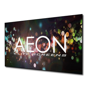 Elite Screens Aeon CineGrey 3D Series, 135-inch 16:9, Ambient Light Rejecting Fixed Frame Edge Free Projection Projector Screen, AR135DHD3 - His Perfect Gifts
