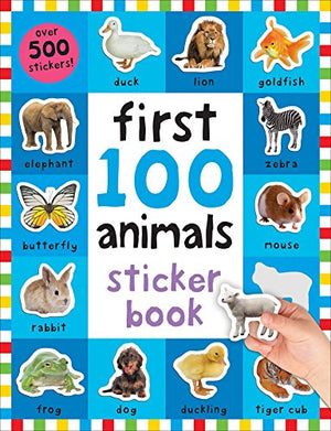 First 100 Animals Sticker Book: Over 500 Stickers - His Perfect Gifts