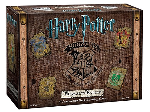 Harry Potter Hogwarts Battle Cooperative Deck Building Card Game | Official Harry Potter Licensed Merchandise | Harry Potter Board Game | Great Gift for Harry Potter Fans | Harry Potter Movie artwork - His Perfect Gifts