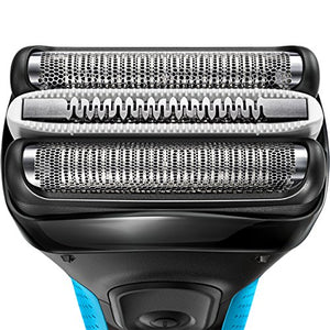 Braun Electric Shaver, Series 3 ProSkin 3040s Men's Electric Razor / Electric Foil Shaver, Rechargeable, Wet & Dry, Blue - His Perfect Gifts