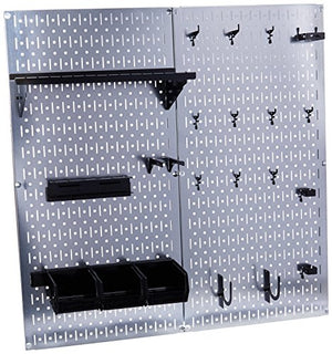 Wall Control 30-WGL-200GVB Galvanized Steel Pegboard Tool Organizer - His Perfect Gifts