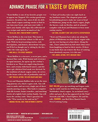A Taste of Cowboy: Ranch Recipes and Tales from the Trail - His Perfect Gifts