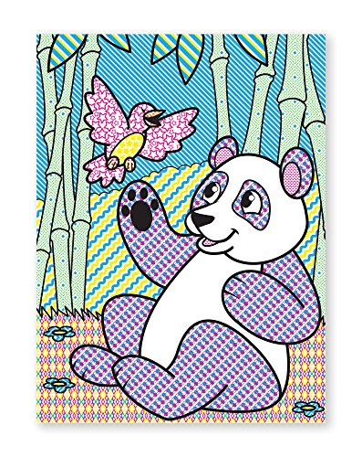 Melissa & Doug My First Paint with Water Beginning Art Pad with Brush 2 Pack - Animals; Cheerleaders, Flowers, Fairies & More, Multicolor - His Perfect Gifts
