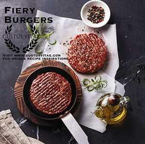 Fiery Flavors Gourmet Seasoning Collection | Non GMO Project Verified | 3 Magnetic Tins | Artisan Spice Blends - His Perfect Gifts