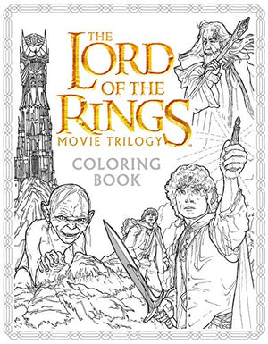 The Lord of the Rings Movie Trilogy Coloring Book - His Perfect Gifts