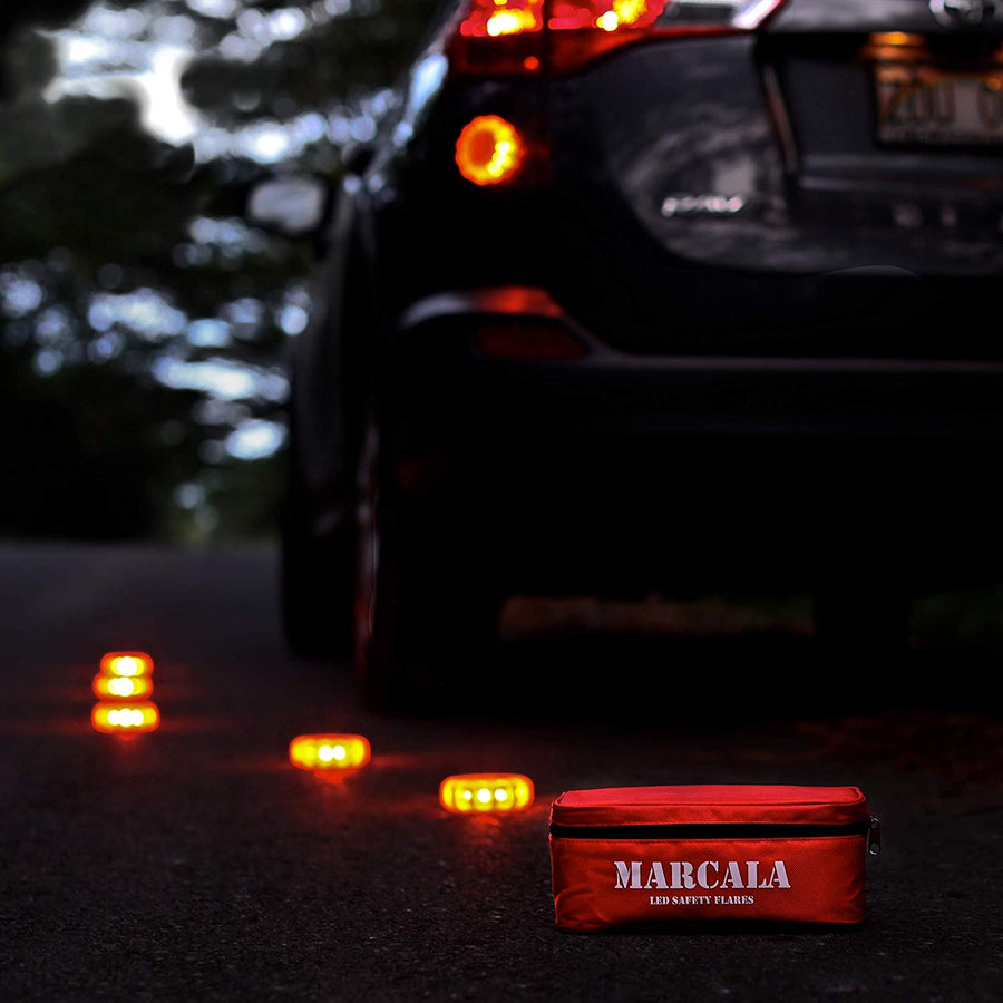 LED Road Flares 6 Pack - His Perfect Gifts