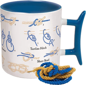 How To: Knots Coffee Mug - Learn How to Tie Eight Different Knots - His Perfect Gifts