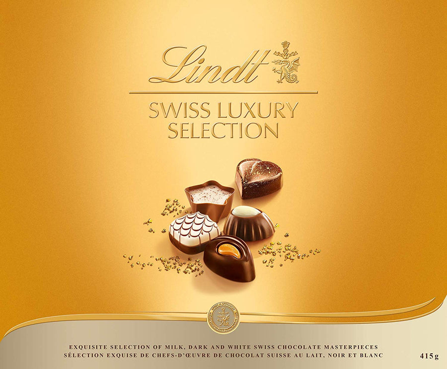 Lindt Chocolate Swiss Luxury Selection - His Perfect Gifts