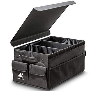 Foldable Car Trunk Organizer with Lid Cover - His Perfect Gifts