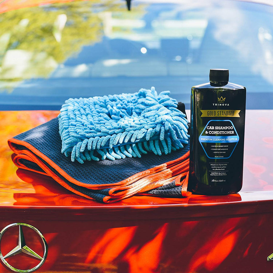 TriNova Complete Car Wash Kit - His Perfect Gifts