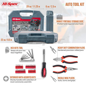Auto Mechanics Tool Set 67 Piece SAE - His Perfect Gifts