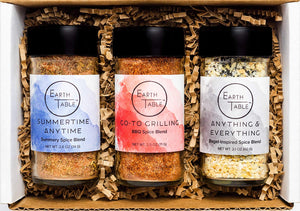 Earth Table Globally-Inspired Spice Boxes - His Perfect Gifts