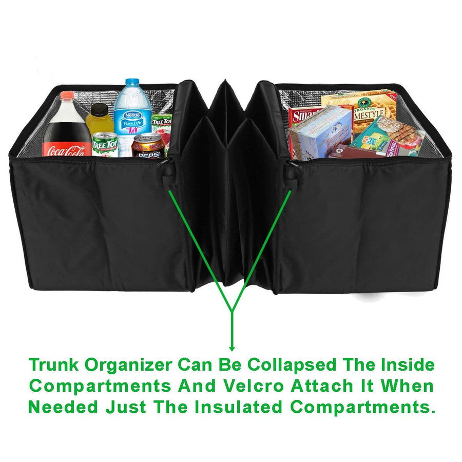 Trunk Organizer with Insulated Cooler - His Perfect Gifts
