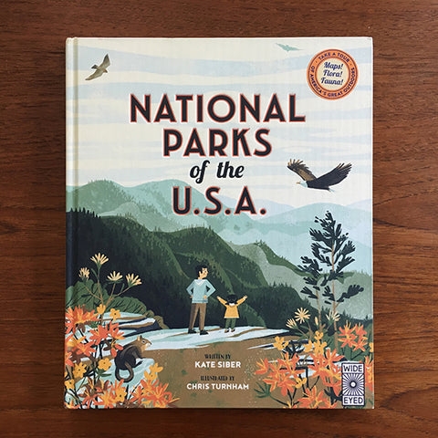 National Parks of the U.S.A. book by Chris Turnham