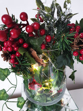 Load image into Gallery viewer, Christmas Vase with all the nice bits!