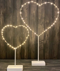 Heart shaped LED Home Decor