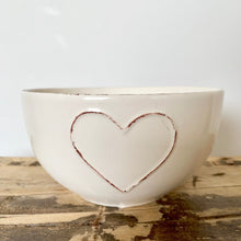 Load image into Gallery viewer, Heart Embossed Bowls