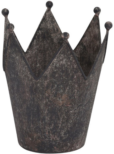 Medium Metal Distressed Crown