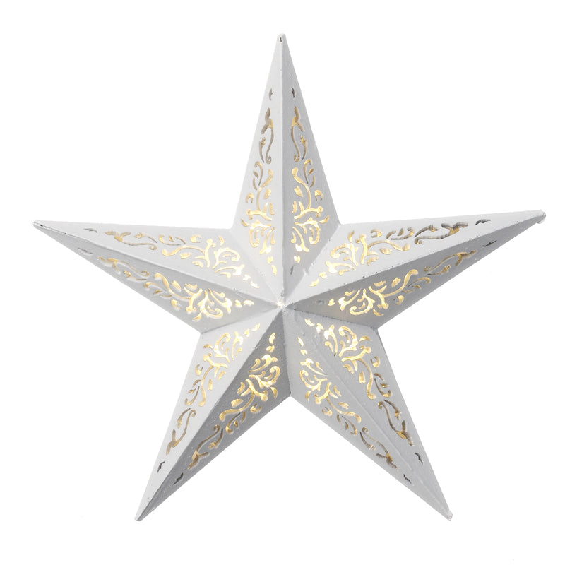 White decorative LED Stars