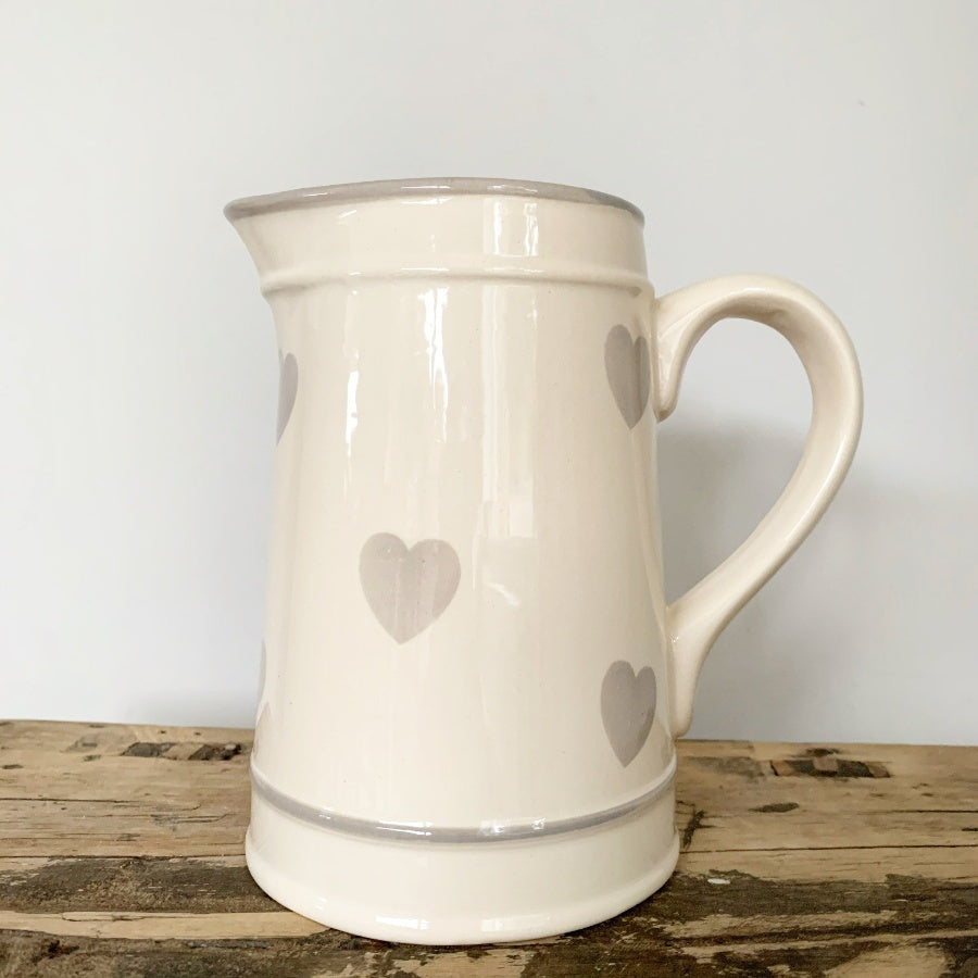 Country Heart Jug
