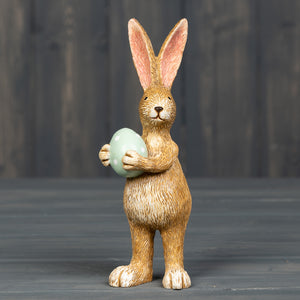 Standing Bunny with Egg