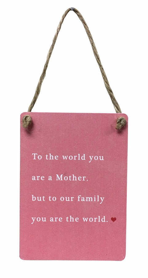Special Mother's Day Plaque