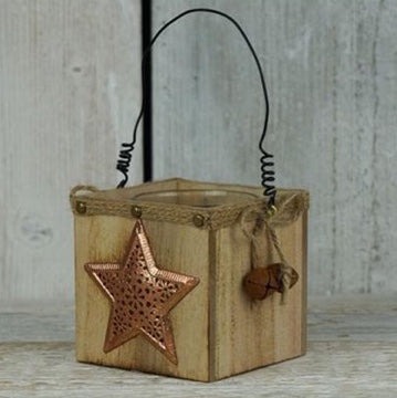 Rustic Tealight Holders