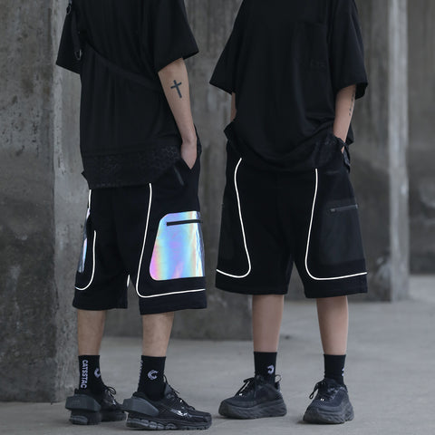 Image of techwear shorts