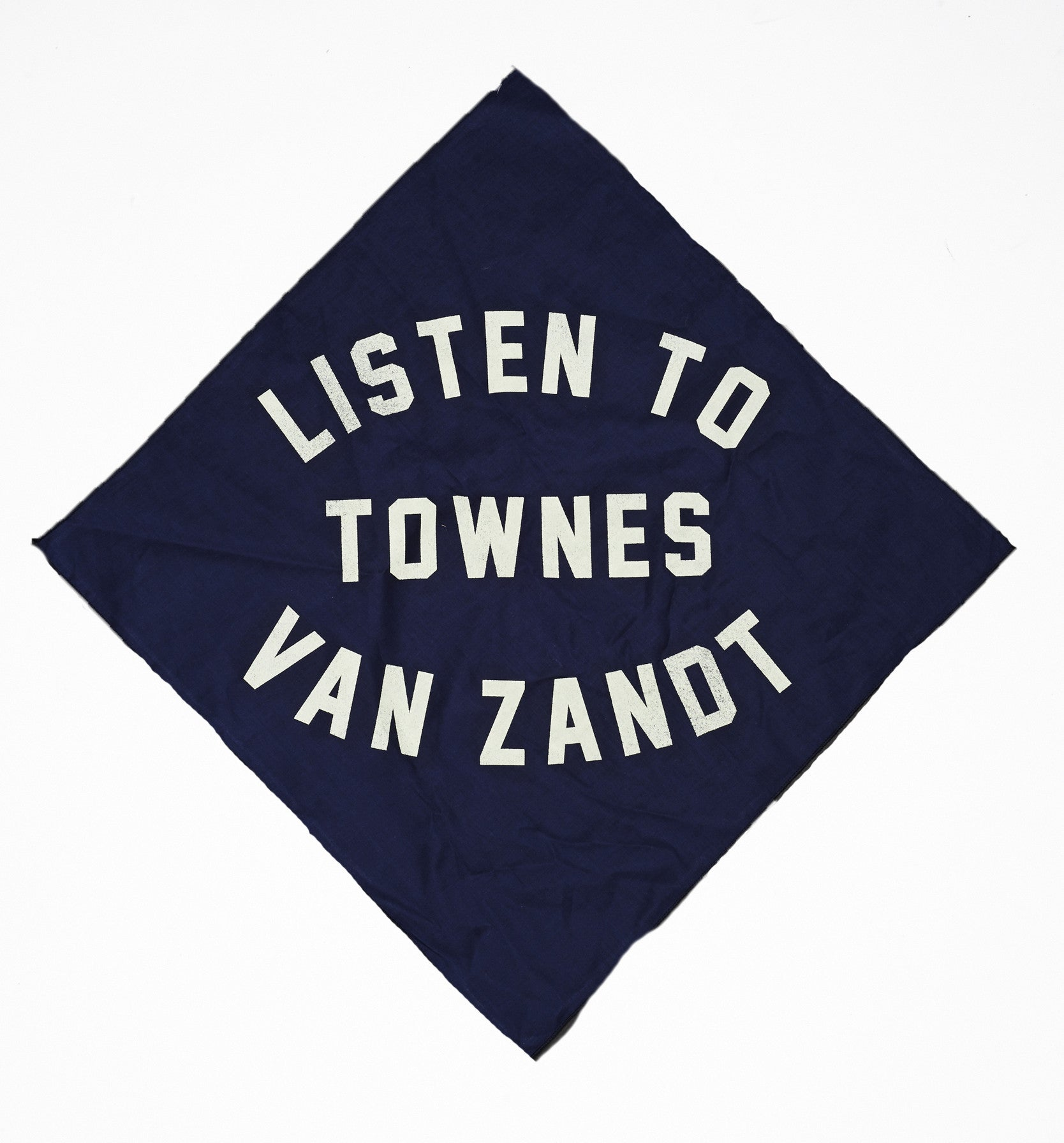 Listen to Townes Van Zandt Bandana - Accessories - Midnight Rider