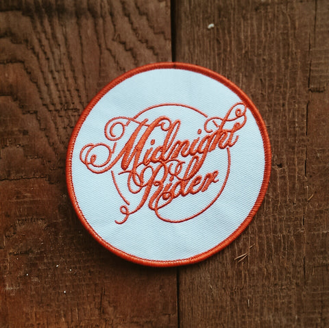 Midnight Rider Logo Patch - Accessories - Midnight Rider