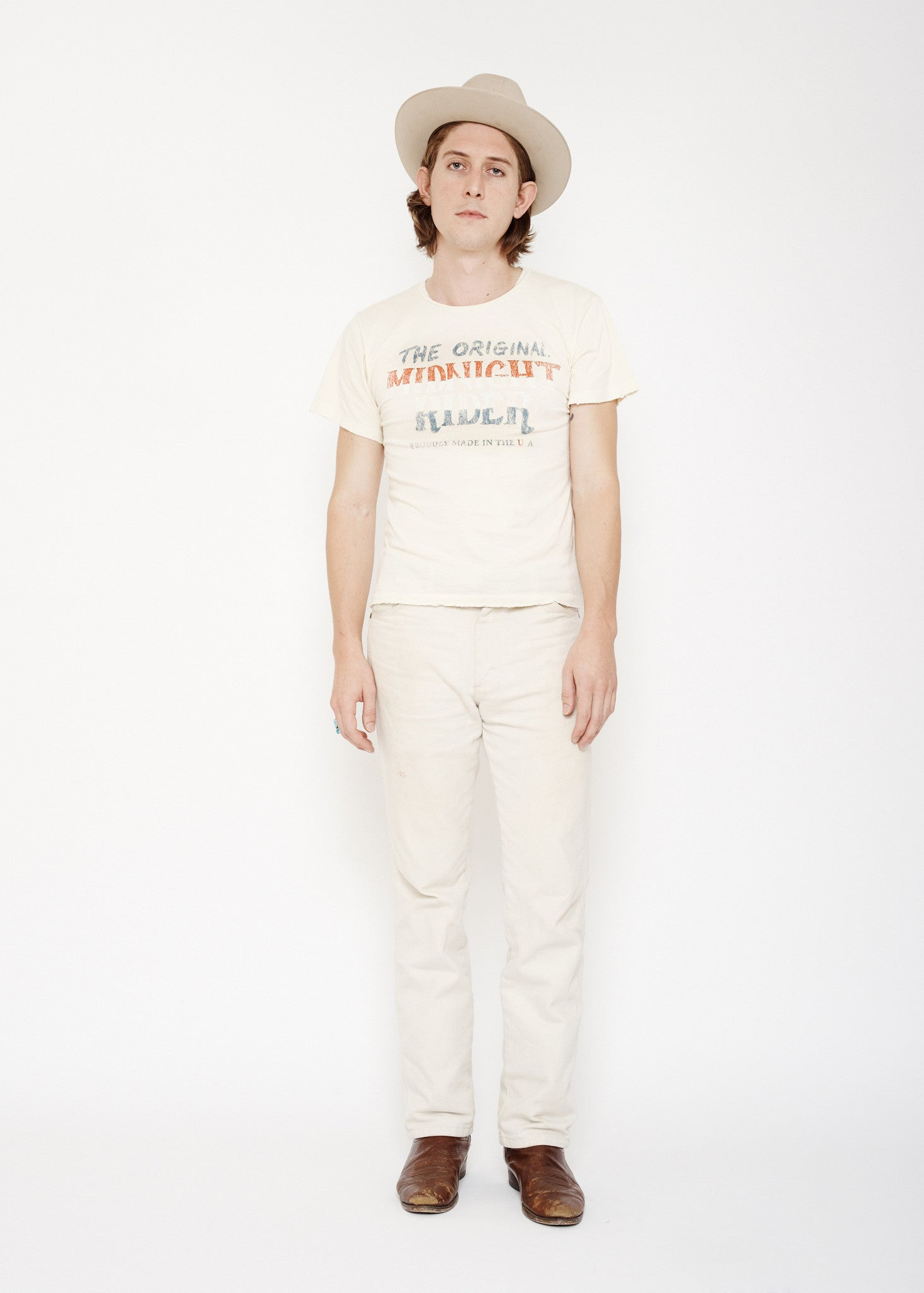 Original Midnight Rider Unisex Crew - Dirty White