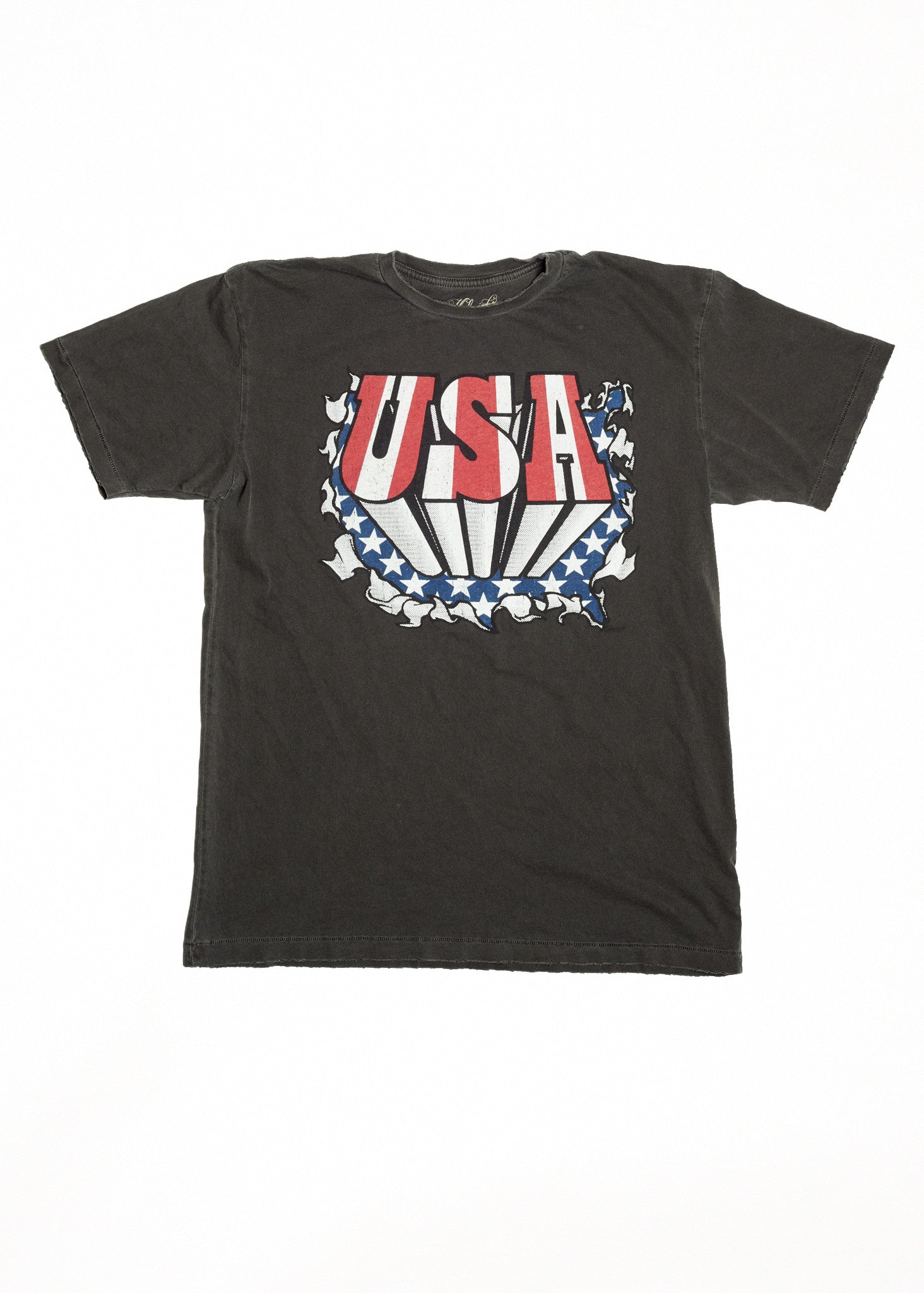 USA Men's Crew - Vintage Black