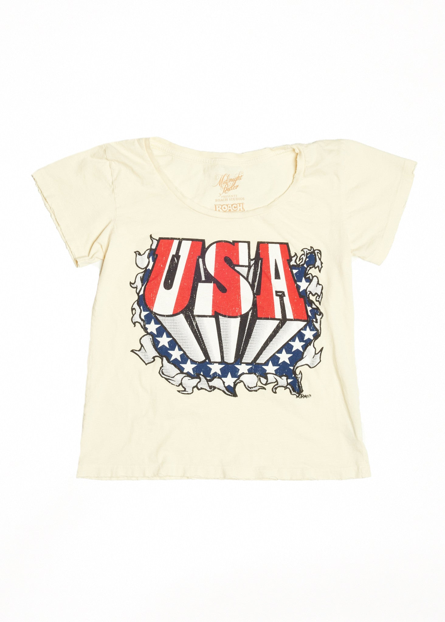 USA Women's Crew - Dirty White