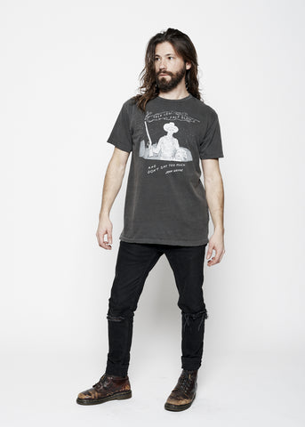 Talk Low Men's Crew - Vintage Black