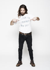 Listen to Townes Van Zandt Men's Crew - Bright White