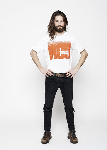 Kick Out The Jams Men's Crew - Bright White - Men's Tee Shirt - Midnight Rider
