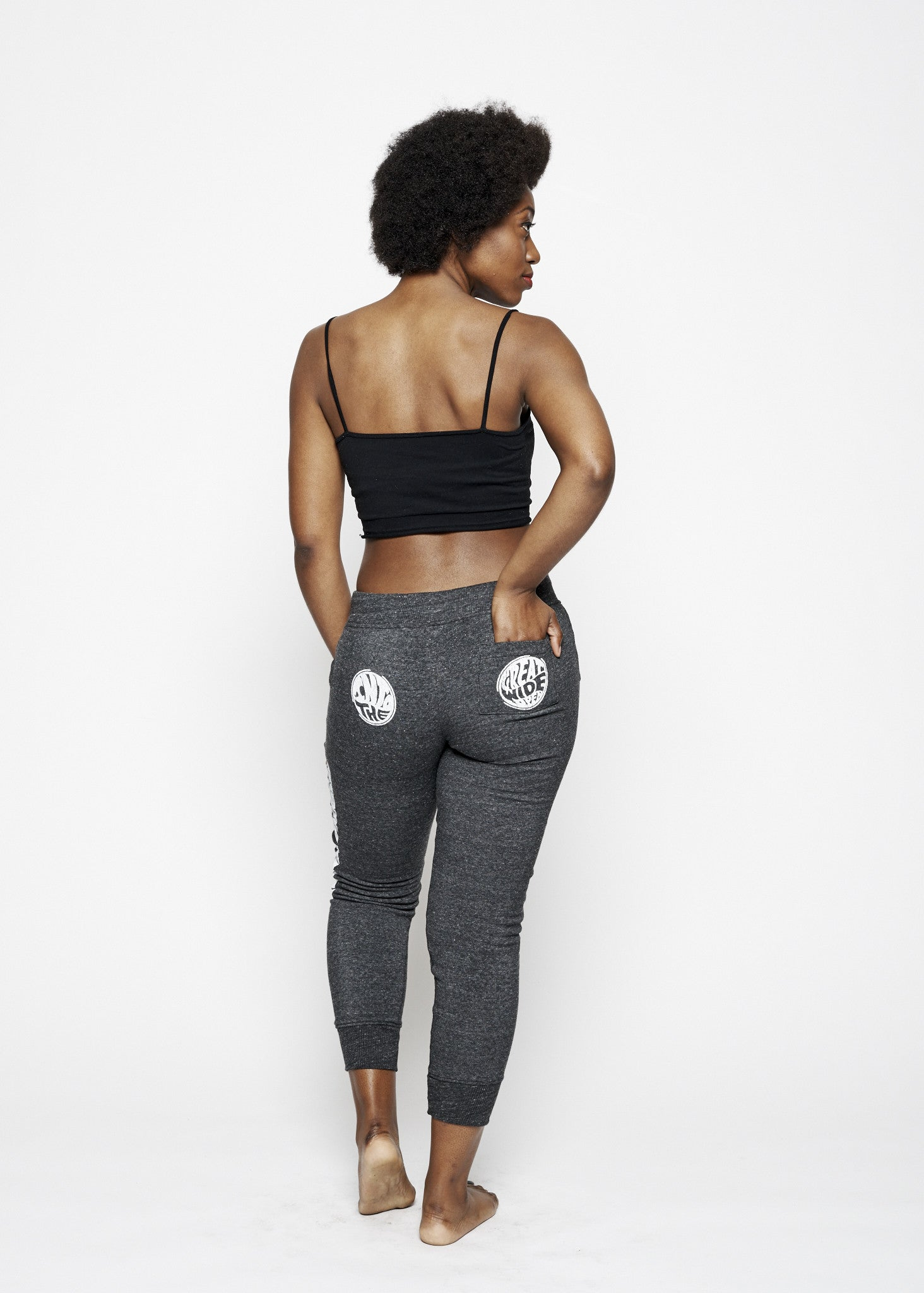 Into The Great Wide Open Sweatpants - Vintage Black - Women's Pants - Midnight Rider
