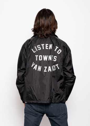 Listen to Townes Van Zandt Destroyed Men's Crew - Vintage Black