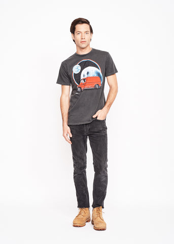 Intergalactic Vanning Men's Crew - Vintage Black