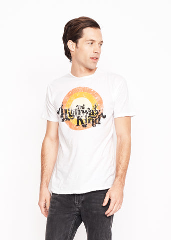 Highway Kind Men's Crew - Bright White
