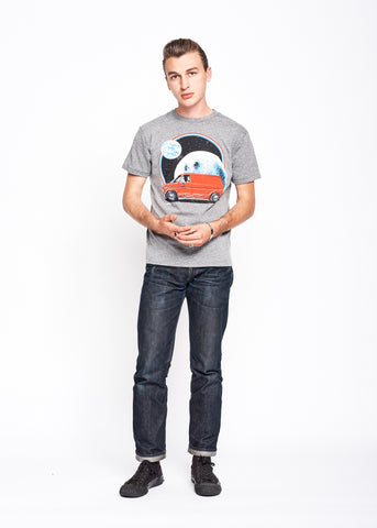 Intergalactic Vanning Men's Crew - Heather Grey
